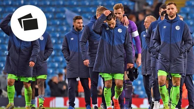 Mit 0:7 verlor der FC Schalke 04 im Achtelfinale der Champions League bei Manchester City