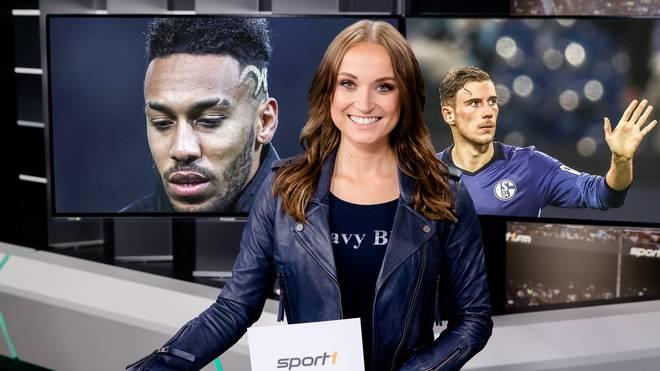 Nele Schenker moderiert Bundesliga Aktuell