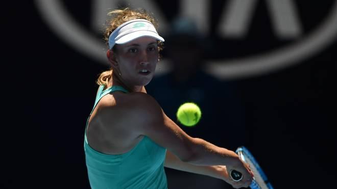 Die 22-Jährige Elise Mertens spielte 2013 ihre erste Profisaison
