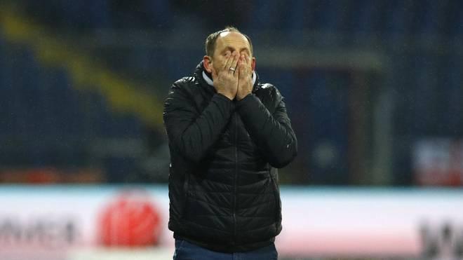 Torsten Lieberknecht war von der Unterstützung der Braunschweiger Fans überwältigt