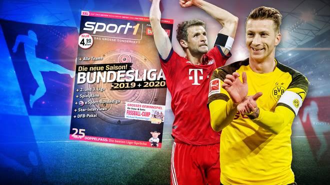 Das SPORT1 Bundesliga Sonderheft ist seit dem 9. Juli im Handel erhältlich