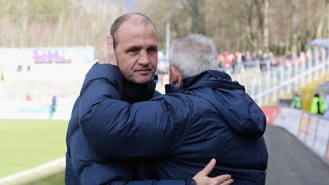 Erzgebirge Aue v Wuerzburger Kickers  - 3. Liga