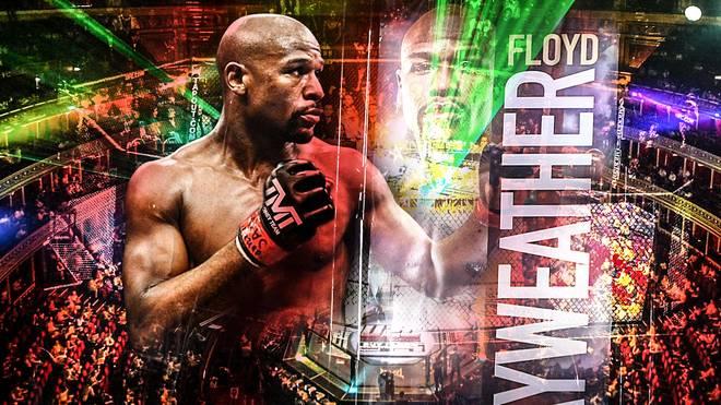 Floyd Mayweather zeigte sich bei Instagram mit MMA-Handschuhen