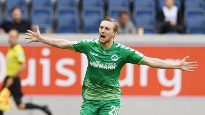 2. Bundesliga: MSV Duisburg - Greuther Fürth 0:1, Spielbericht