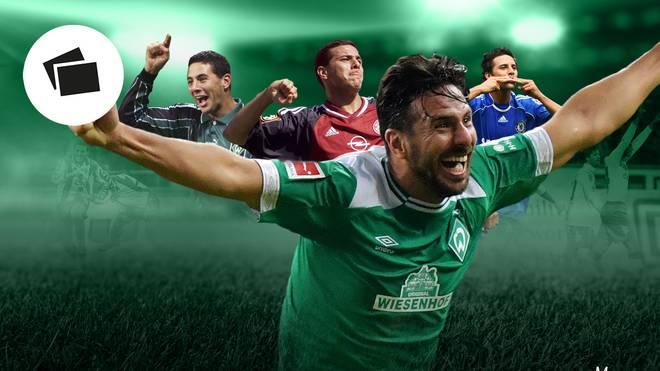 Claudio Pizarro stellte als ältester Torschütze der Bundesliga einen Rekord auf