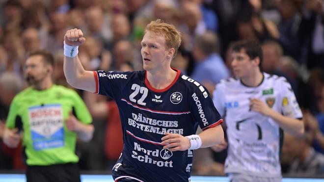Anders Zachariassen ist ein dänischer Nationalspieler in den Reihen der SG Flensburg-Handewitt