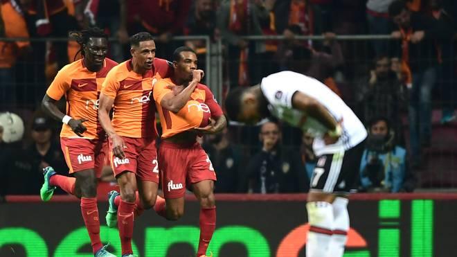 Garry Rodrigues erzielte das 2:0 für Galatasaray
