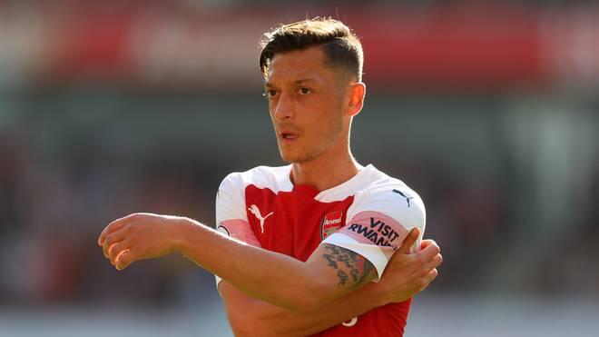 Mesut Özil ist mit dem FC Arsenal seit 14 Spielen ungeschlagen