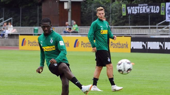 Mamadou Doucoure wechselte 2016 von Paris Saint-Germain zu Borussia Mönchengladbach