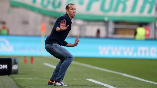 Jeff Strasser will mit vollem Körpereinsatz den 1. FC Kaiserslautern nach oben frühen