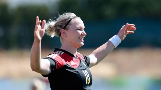 DFB: Alexandra Popp neue Spielführerin der Frauen-Nationalmannschaft, Alexandra Popp wird neue Spielführerin der deutschen Frauen