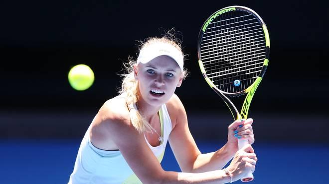 Caroline Wozniacki sicherte sich nach einer Mega-Aufholjagd den Sieg