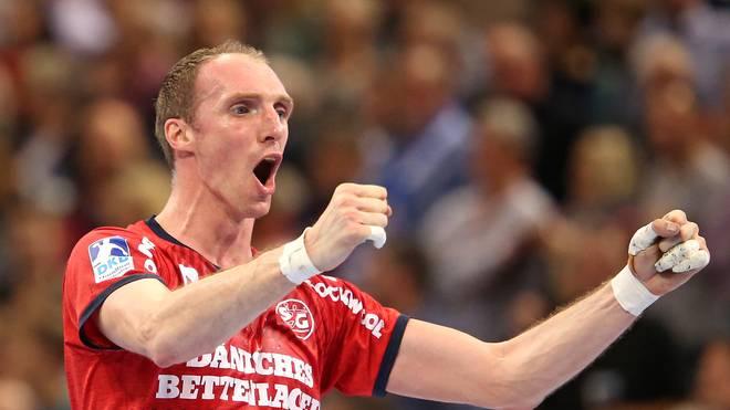 Holger Glandorf geht mit der SG Flensburg-Handewitt ohne Niederlage in die WM-Pause