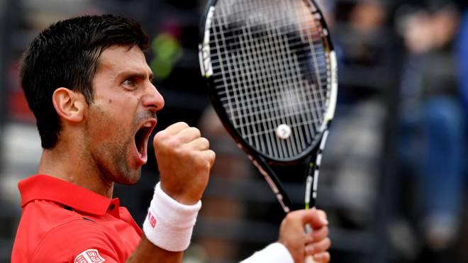 Novak Djokovic steht im Finale von Madrid