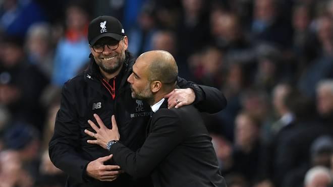 Für Jürgen Klopp ist Pep Guardiola der beste Trainer der Welt