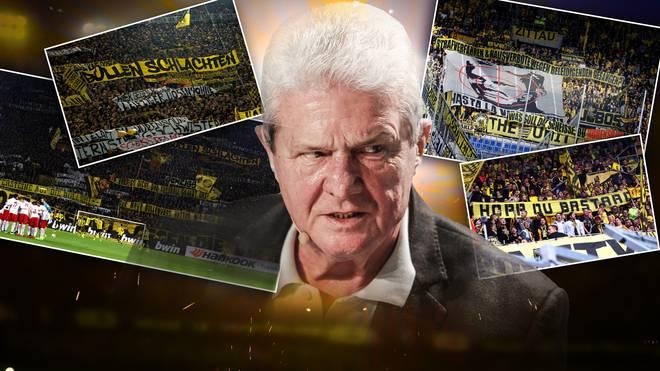 TSG-Mäzen Dietmar Hopp wurde am Wochenende von einigen BVB-Fans mit einem geschmacklosen Banner angefeindet