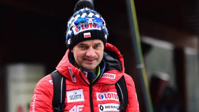 Stefan Horngacher trainierte zuvor die polnischen Skispringer
