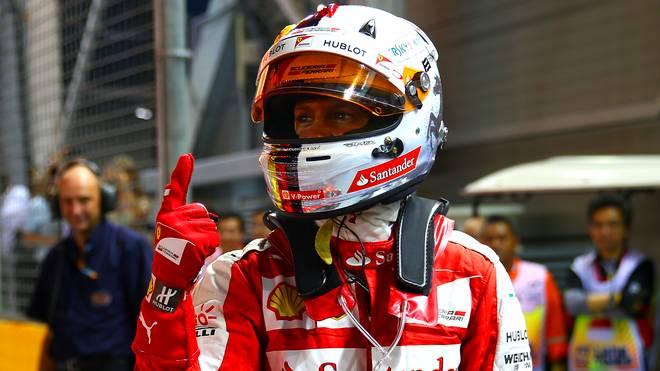 Sebastian Vettel holte in Singapur die 46. Pole seiner Karriere