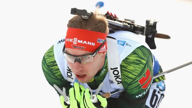 Johannes Kühn hat einen erfolgreichen Start in den Winter gefeiert
