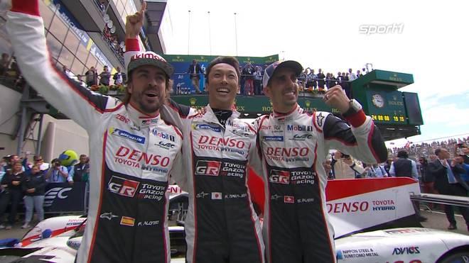 Fernando Alonso gewinnt in Le Mans