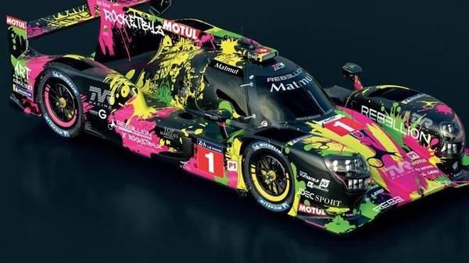 Der Rebellion R13 erhält für die 24 Stunden von Le Mans ein einzigartiges Farbkleid