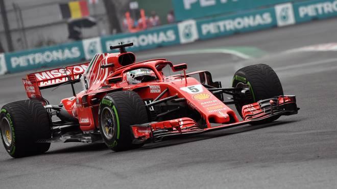 Sebastian Vettel will beim Großen Preis von Mexiko die Pole Position