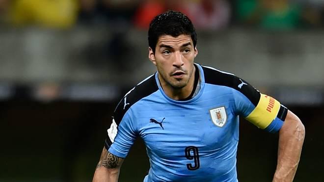 Luis Suarez ist Rekordtorschütze von Uruguay