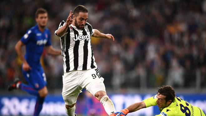 Gonzalo Higuain spielt seit 2016 bei Juventus Turin