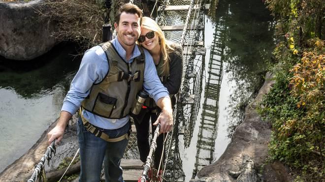 Kate Upton und Freund Justin Verlander im Disney-Park