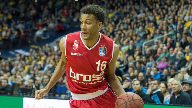 Louis Olinde von Brose Bamberg meldet sich für den diesjährigen NBA-Draft an