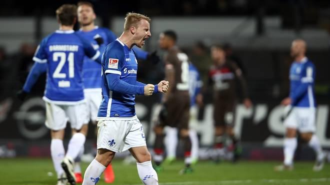 SV Darmstadt 98 v FC St. Pauli - Second Bundesliga: Fabian Holland ist Kapitän des SV Darmstadt 98