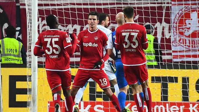 1. FC Kaiserslautern - Holstein Kiel