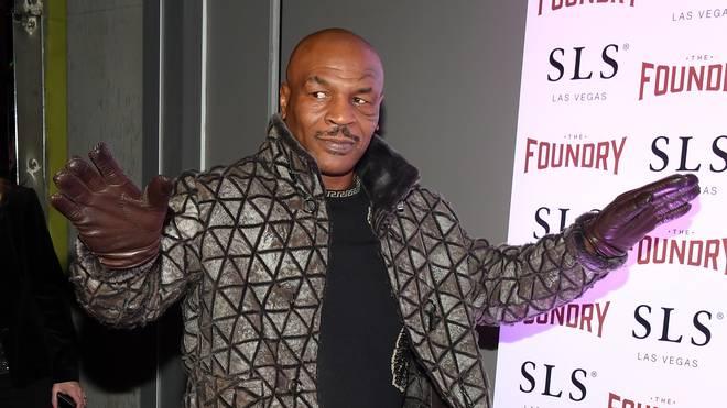 Mike Tyson gewann 50 seiner 58 Profi-Kämpfe im Boxen, 44 durch K.o.