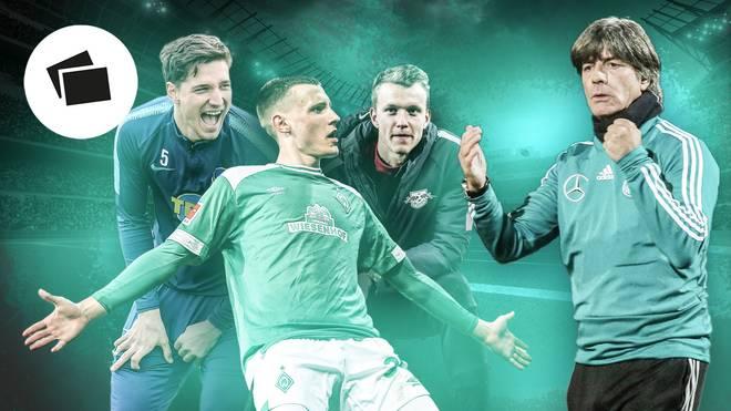 Niklas Stark (l.) und Co. sind die neuen Gesichter im Nationalteam