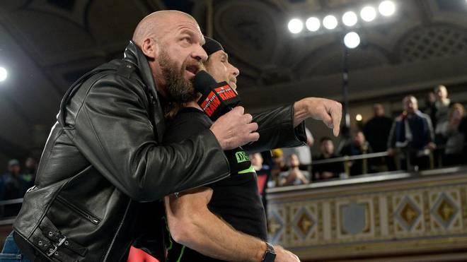 Triple H (l.) und Shawn Michaels werden die D-Generation X neu aufleben lassen