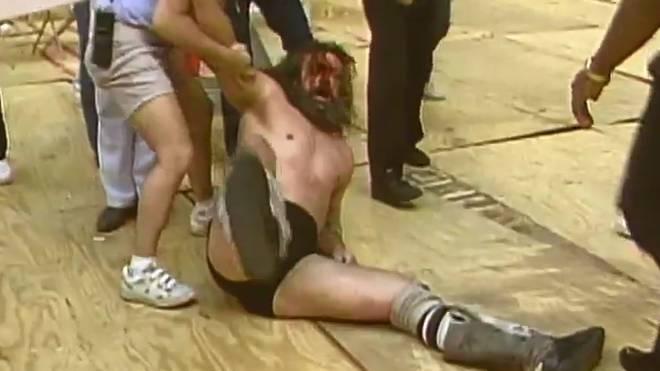 Bruiser Brody fügte sich oft absichtlich blutende Wunden zu, um seine Matches dramatischer zu machen