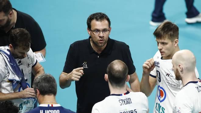 Cedric Enard ist neuer Trainer der Berlin Recycling Volleys