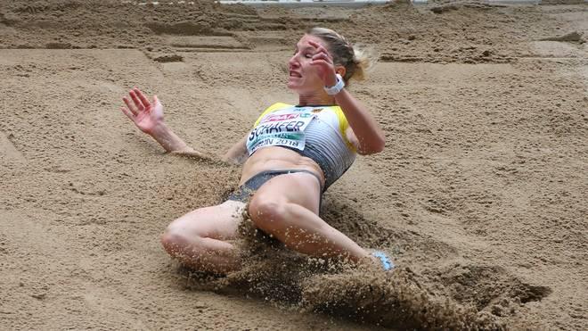 Leichtathletik-EM: Carolin Schäfer verliert Platz, Johnson-Thompson führt
