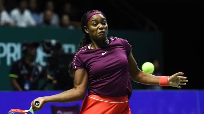 Sloane Stephens stand in diesem Jahr im Finale der French Open