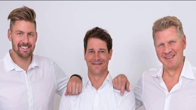 Etienne Effenberg, Michael Hoffmann und Stefan Effenberg