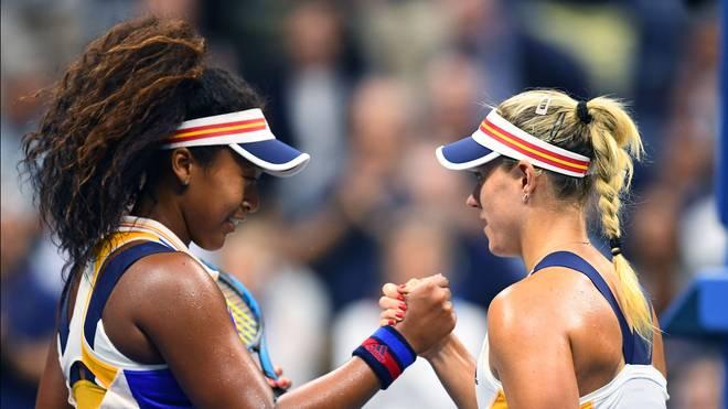 Titelverteidigerin Angelique Kerber zollt Naomi Osaka Respekt nach der Niederlage bei den US Open