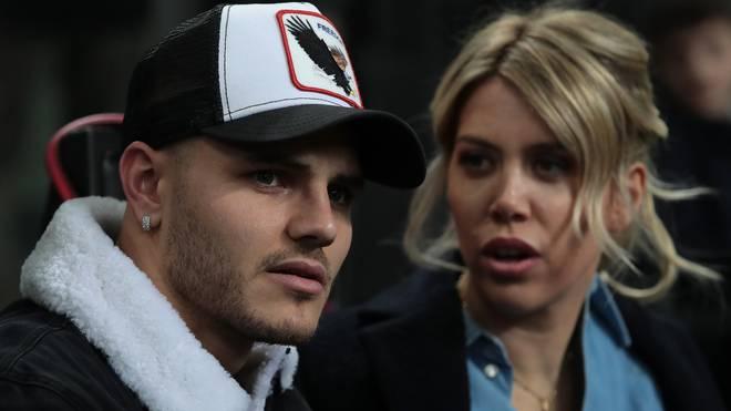 Inters Superstar Mauro Icardi war in den letzten Spielen nur auf der Tribüne zu finden. Ehefrau Wanda sorgt anhaltend für Aufsehen