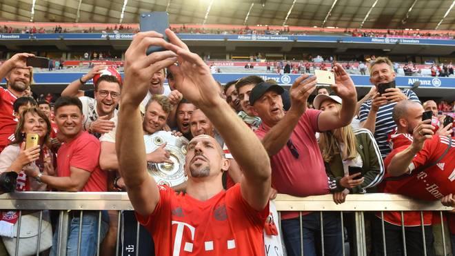 Franck Ribery spielt seit 2007 beim FC Bayern