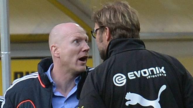 Matthias Sammer und Jürgen Klopp lieferten sich ein Kopf-an-Kopf-Duell