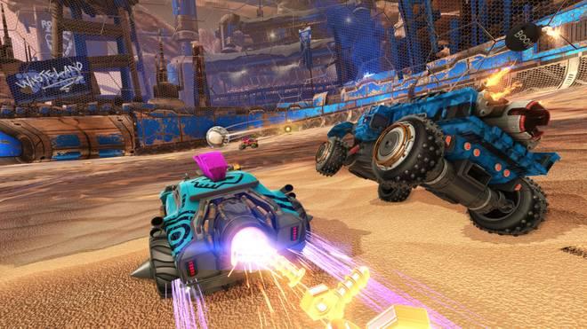 Rocket League verbindet zwei der besten Dinge der Welt: Autos und Fußball