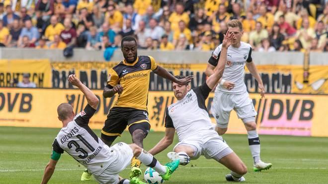 Der SV Sandhausen überraschte mit einem Auswärtssieg in Dresden