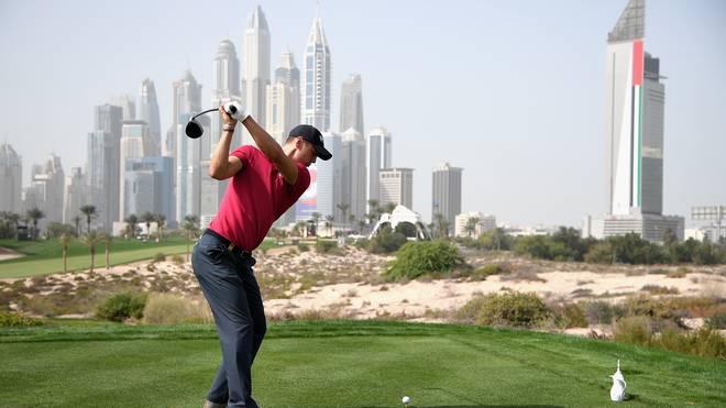 Martin Kaymer spielte vor eindrucksvoller Kulisse in Dubai eine starke zweite Runde