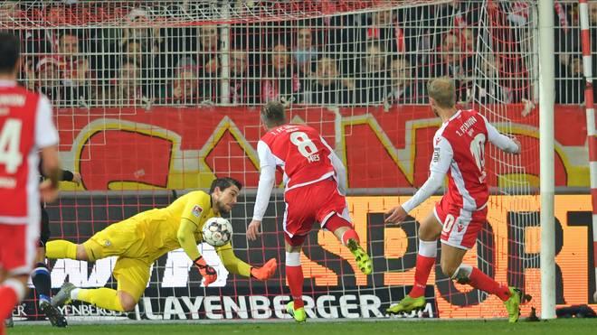 1. FC Union Berlin v DSC Arminia Bielefeld - Second Bundesliga