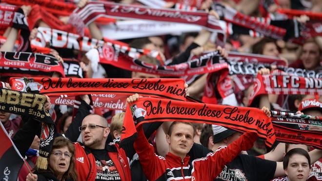 Fans des 1. FC Nürnberg