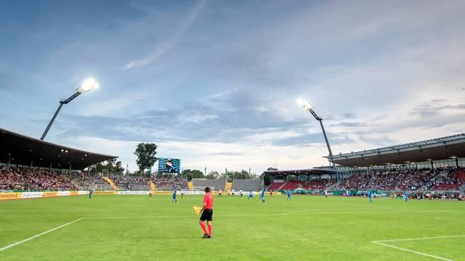 Das Auestadion in Kassel bietet für über 18.000 Zuschauer Platz